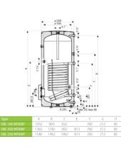 Drazice OKC 160 NTR/BP