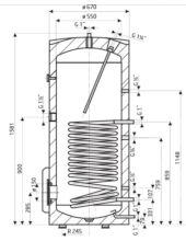Drazice OKC 300 NTR/1MPa