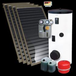Standard-4 napkollektoros rendszer