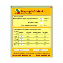 Naplopó Emission szoftver