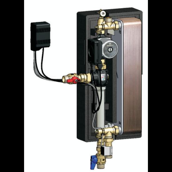 FriWaHe41-27 hőcserélős melegvíz készítő egység