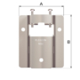 Kép 5/6 - Flamco tágulási tartáyl fali rögzítő MB2