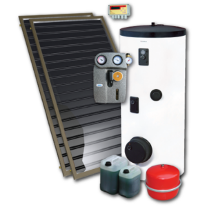 Standard-2 napkollektoros rendszer