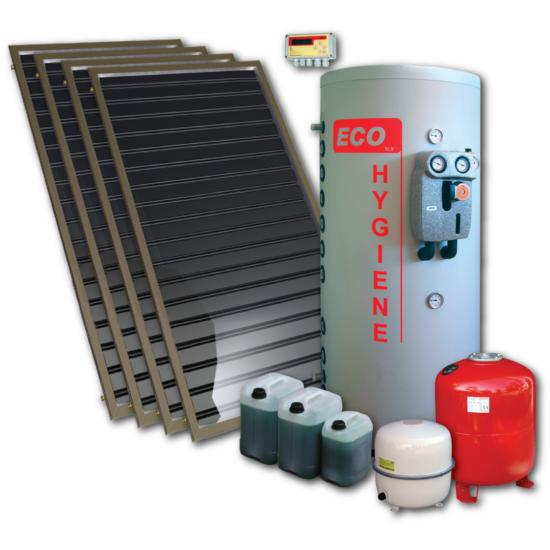 EcoFlow-5 napkollektoros rendszer