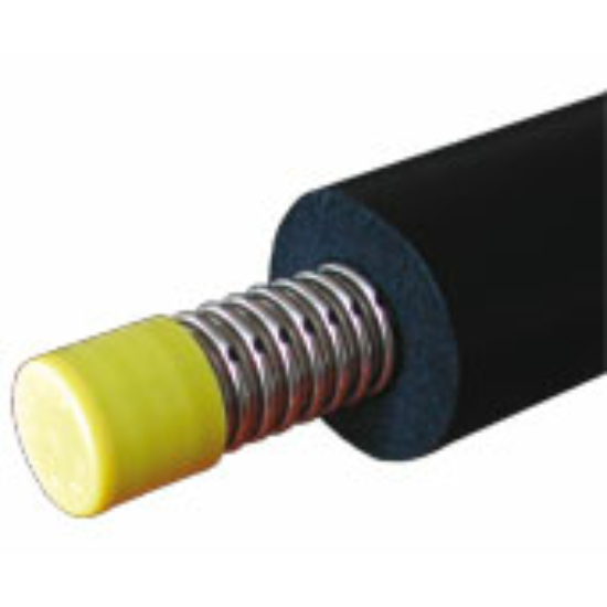 Ecoline szimpla cső, 19mm vastag hőszigeteléssel