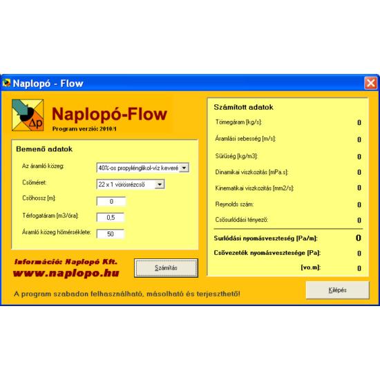 Ecoline Flow szoftver